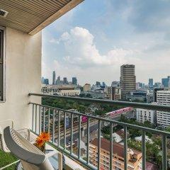 Отель Evergreen Place Siam by UHG Таиланд, Бангкок - 1 отзыв об отеле, цены и фото номеров - забронировать отель Evergreen Place Siam by UHG онлайн балкон