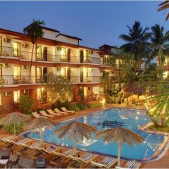 Отель Pride Sun Village Resort And Spa Гоа бассейн фото 3
