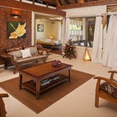 Отель Robinson's Cove Villas - Deluxe Wallis Villa Французская Полинезия, Муреа - отзывы, цены и фото номеров - забронировать отель Robinson's Cove Villas - Deluxe Wallis Villa онлайн комната для гостей