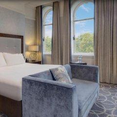 Hilton Glasgow Grosvenor Hotel 4* Номер Делюкс с разными типами кроватей фото 2