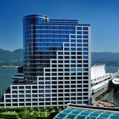 Отель The Fairmont Waterfront Канада, Ванкувер - отзывы, цены и фото номеров - забронировать отель The Fairmont Waterfront онлайн пляж