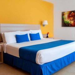 Отель Calinda Beach Acapulco комната для гостей фото 3