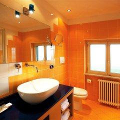 Отель Piemontese Бергамо ванная