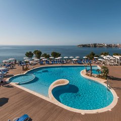 Отель Aparthotel Ponent Mar Испания, Пальманова - 1 отзыв об отеле, цены и фото номеров - забронировать отель Aparthotel Ponent Mar онлайн бассейн фото 2