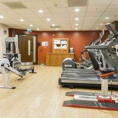 Отель Hilton London Canary Wharf фитнесс-зал фото 2