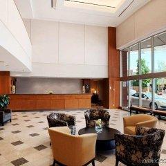 Отель Hilton Vancouver Metrotown Канада, Бурнаби - отзывы, цены и фото номеров - забронировать отель Hilton Vancouver Metrotown онлайн интерьер отеля
