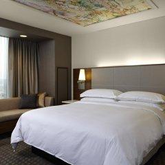 Отель Hilton Columbus Downtown США, Колумбус - отзывы, цены и фото номеров - забронировать отель Hilton Columbus Downtown онлайн комната для гостей фото 2