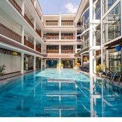 Отель Thanh Binh Iii Хойан бассейн фото 3