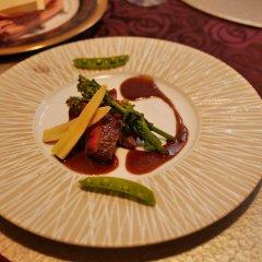 Отель Hatago Sakura Минамиогуни питание фото 3