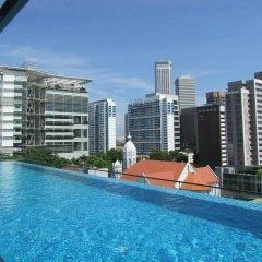 Отель Mercure Singapore Bugis Сингапур, Сингапур - 1 отзыв об отеле, цены и фото номеров - забронировать отель Mercure Singapore Bugis онлайн бассейн фото 3