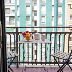 Отель GIAMBELLINO Милан балкон