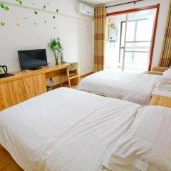 Отель Xiaoqi Yizhan Xi'an Dayanta Xinlvcheng Китай, Сиань - отзывы, цены и фото номеров - забронировать отель Xiaoqi Yizhan Xi'an Dayanta Xinlvcheng онлайн комната для гостей фото 4