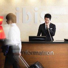 Отель ibis Styles Ambassador Seoul Myeongdong интерьер отеля
