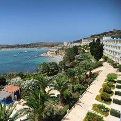 Mellieha Bay Hotel пляж