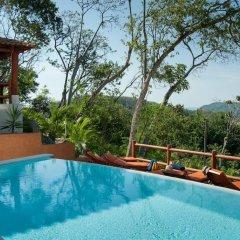 Отель Solana Boutique Bed & Breakfast Мексика, Сиуатанехо - отзывы, цены и фото номеров - забронировать отель Solana Boutique Bed & Breakfast онлайн бассейн фото 2