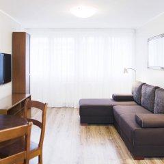 Отель Hosapartments City Center Польша, Варшава - 2 отзыва об отеле, цены и фото номеров - забронировать отель Hosapartments City Center онлайн комната для гостей фото 2