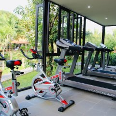 Отель Phu Thinh Boutique Resort And Spa Хойан фитнесс-зал фото 3