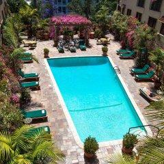 Отель Best Western PLUS Sunset Plaza США, Уэст-Голливуд - отзывы, цены и фото номеров - забронировать отель Best Western PLUS Sunset Plaza онлайн бассейн фото 2