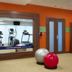 Гостиница Hampton by Hilton Minsk City Center фитнесс-зал фото 3