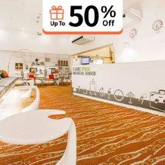 Отель D Varee Xpress Makkasan Таиланд, Бангкок - 1 отзыв об отеле, цены и фото номеров - забронировать отель D Varee Xpress Makkasan онлайн фитнесс-зал