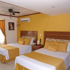 Hotel Villa Las Margaritas Sucursal Caxa комната для гостей фото 2