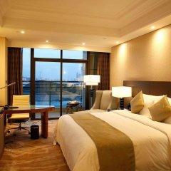 Отель Wyndham Grand Xiamen Haicang Китай, Сямынь - отзывы, цены и фото номеров - забронировать отель Wyndham Grand Xiamen Haicang онлайн комната для гостей фото 3