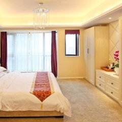 Апартаменты Chengdu Jianian CEO Apartment комната для гостей фото 5