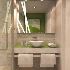 Отель Oxygen Lifestyle Helvetia Parco Римини ванная