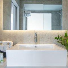 Отель Lordos Beach Кипр, Ларнака - 6 отзывов об отеле, цены и фото номеров - забронировать отель Lordos Beach онлайн ванная фото 2