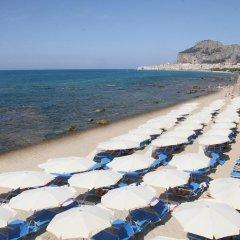Отель Santa Lucia Le Sabbie Doro Чефалу пляж фото 2