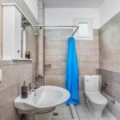 Отель Golden Residence Family Resort Греция, Ханиотис - отзывы, цены и фото номеров - забронировать отель Golden Residence Family Resort онлайн ванная