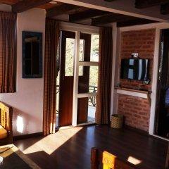 Отель at the End of the Universe Непал, Нагаркот - отзывы, цены и фото номеров - забронировать отель at the End of the Universe онлайн комната для гостей фото 4