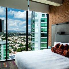Отель Aloft Guadalajara Мексика, Гвадалахара - отзывы, цены и фото номеров - забронировать отель Aloft Guadalajara онлайн комната для гостей фото 4
