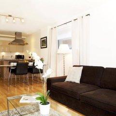 Апартаменты London City Apartments комната для гостей фото 3