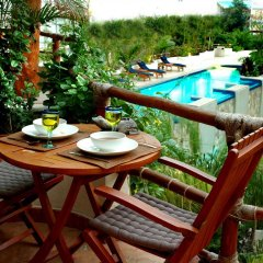 Porto Playa Condo Hotel And Beach Club Плая-дель-Кармен балкон
