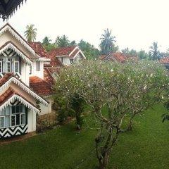 Отель Ayurveda Walauwa Шри-Ланка, Бентота - отзывы, цены и фото номеров - забронировать отель Ayurveda Walauwa онлайн балкон