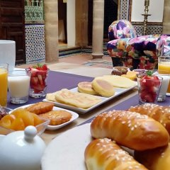 Отель Riad Zeina Марокко, Рабат - отзывы, цены и фото номеров - забронировать отель Riad Zeina онлайн питание фото 2