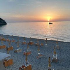 Отель Le Roccette Mare пляж
