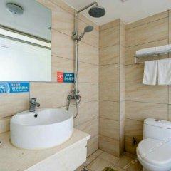 Отель Shunjia Hotel Китай, Сиань - отзывы, цены и фото номеров - забронировать отель Shunjia Hotel онлайн ванная фото 2