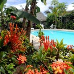 Отель Pension De La Plage бассейн