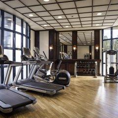 Отель Hilton Nuremberg фитнесс-зал