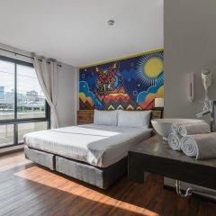 Отель Cacha Hotel Таиланд, Бангкок - 1 отзыв об отеле, цены и фото номеров - забронировать отель Cacha Hotel онлайн комната для гостей фото 2