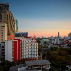 Отель Red Planet Bangkok Asoke балкон
