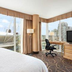Отель Hampton Inn and Suites by Hilton, Downtown Vancouver Канада, Ванкувер - отзывы, цены и фото номеров - забронировать отель Hampton Inn and Suites by Hilton, Downtown Vancouver онлайн удобства в номере