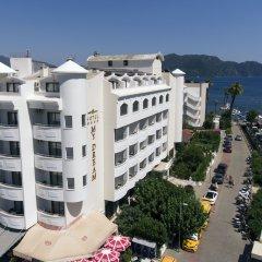My Dream Hotel Турция, Мармарис - отзывы, цены и фото номеров - забронировать отель My Dream Hotel онлайн пляж фото 2