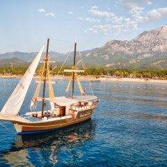 Pirates Beach Club Турция, Кемер - отзывы, цены и фото номеров - забронировать отель Pirates Beach Club онлайн приотельная территория