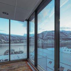 Radisson Blu Polar Hotel Spitsbergen Тромсе приотельная территория