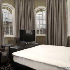 Отель Doubletree By Hilton Edinburgh City Centre Эдинбург комната для гостей фото 4