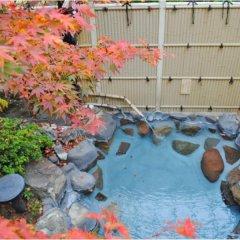 Отель Ryokan Hana to Nagomi No Yado Sankouen Минамиогуни бассейн фото 2
