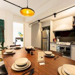 Отель Cozy & Hip Roma Apt With 2 Private Terraces! Мехико фото 11